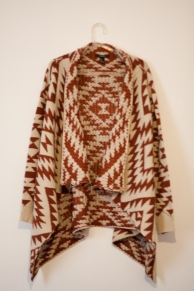 folk knit sweater